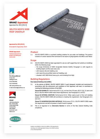 SOLITEX-MENTO3000